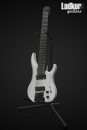Legator GF8P Ghost Headless Fanned Fret Multi Scale 8 String White Ash Performance Series NEW