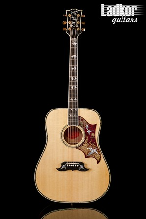 2019 Gibson Custom Shop Montana Doves In Flight Antique Cherry Limited Edition Acoustic-Electric Guitar NEW