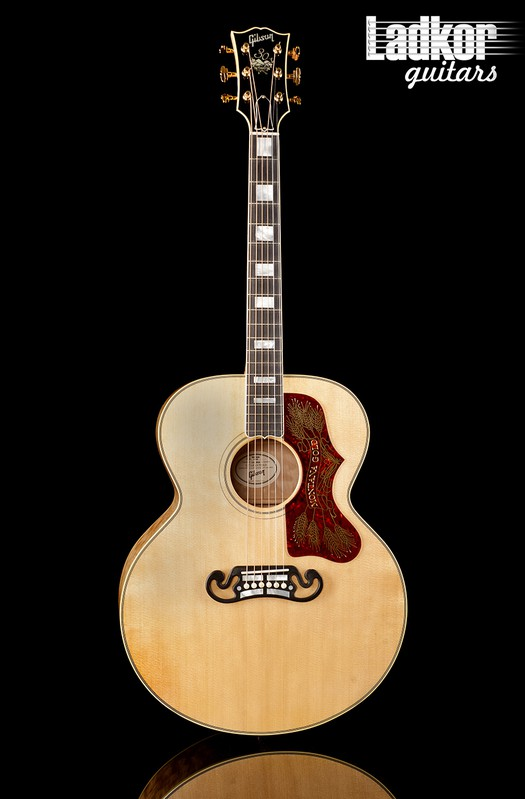 2019 Gibson Custom Shop Montana Gold Antique Natural 30th Anniversary Limited Edition 1 Of 30 Acoustic-Electric Guitar J-200 SJ200 NEW