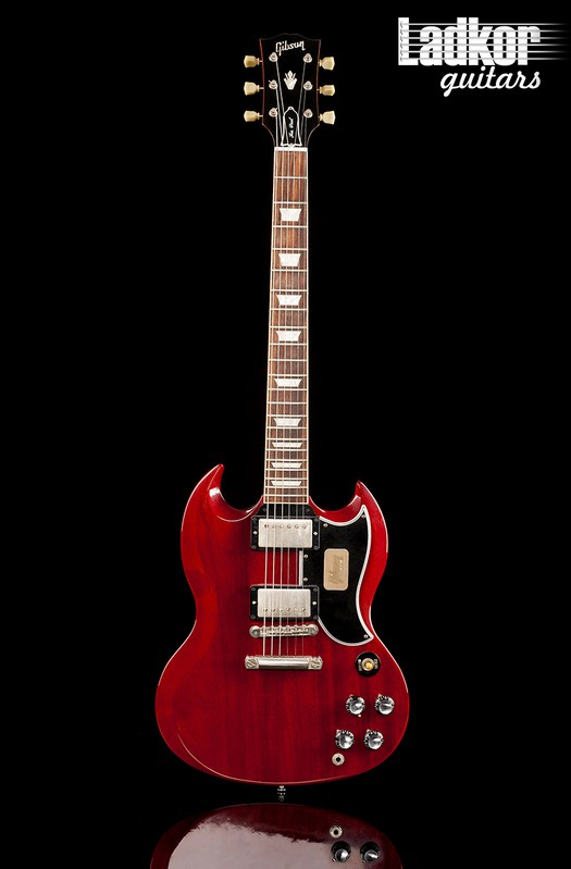 2012 Gibson Custom Shop SG Standard Reissue Faded Cherry VOS Stopbar NOS