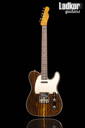2018 Fender Custom Shop Artisan Ziricote Telecaster Natural Limited Edition NEW