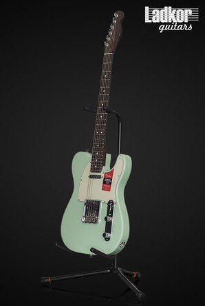 2018 Fender American Professional Telecaster Surf Green Rosewood Neck Limited Edition NEW