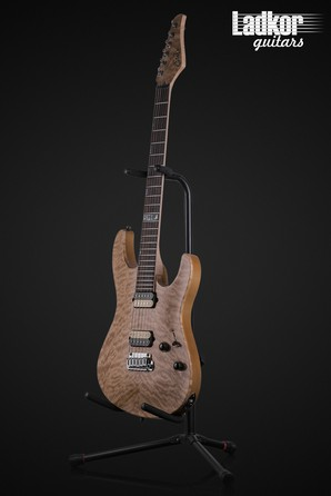 2009 Suhr Modern Carve Top Limited Edition 1 of 75 Natural Quilt