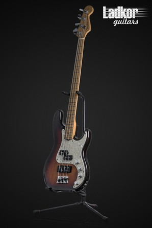 1996 Fender American Deluxe Precision Bass Tobacco Sunburst 50th Anniversary