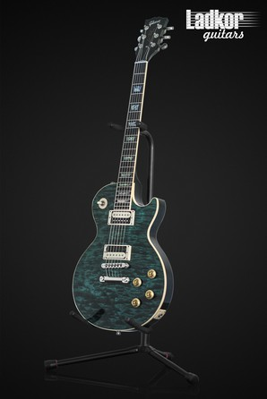 2000 Gibson Custom Shop Les Paul Elegant Peacock Quilt Top