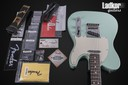 2016 Fender American Standard Telecaster Rosewood Neck Surf Green Limited Edition NEW