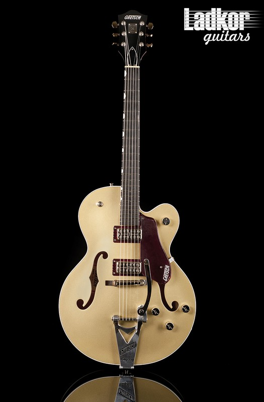 2018 Gretsch G6118T-135 135th Anniversary Two Tone Casino Gold on Dark Cherry Metallic NEW