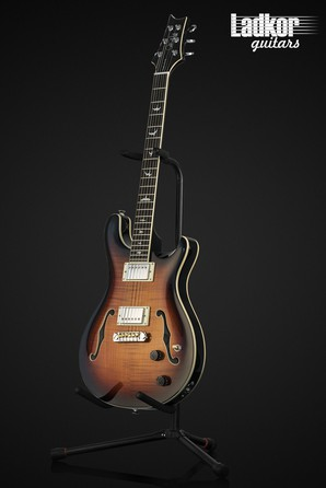 PRS SE Hollowbody II Tri-Color Sunburst NEW