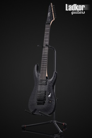 ESP LTD Buz McGrath BUZ-7 Unearth Signature See Thru Black 7 String NEW