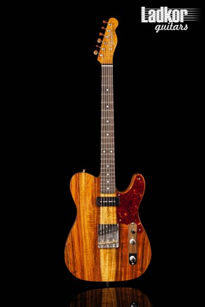2020 Fender Custom Shop Artisan Koa Telecaster Natural P90 NEW