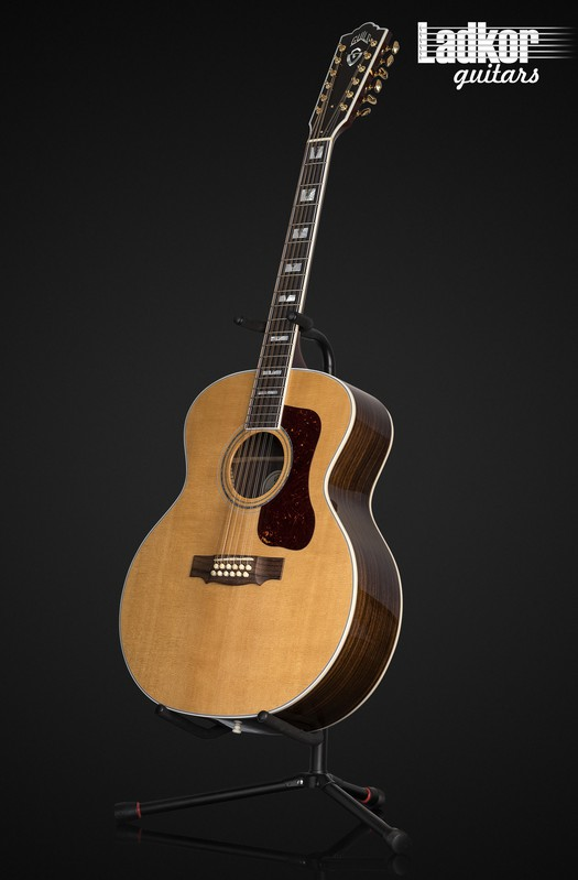 Guild F512 Natural 12-String Jumbo Acoustic Guitar