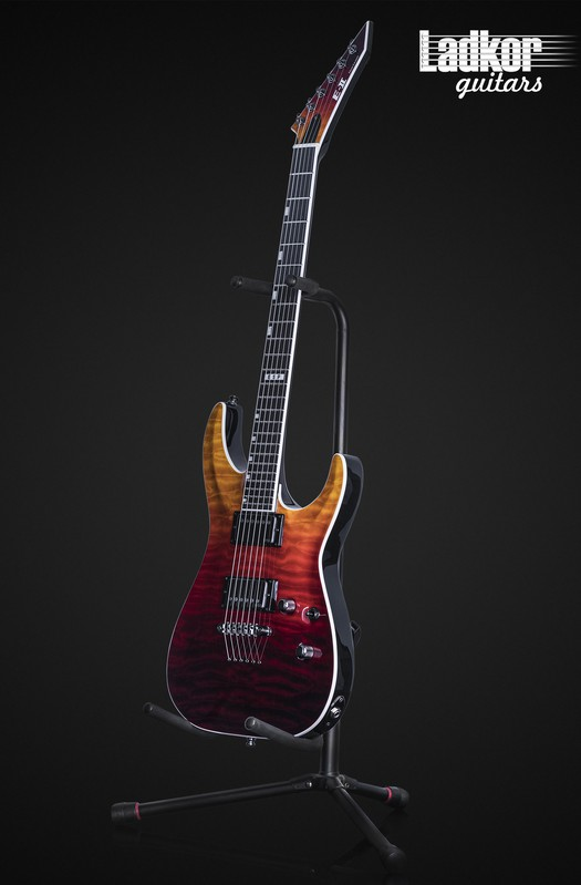 ESP E-II Horizon NT-II Tiger Eye Amber Fade NEW