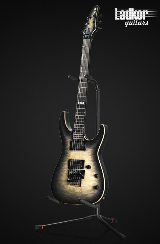 ESP E-II Horizon FR Black Natural Burst NEW