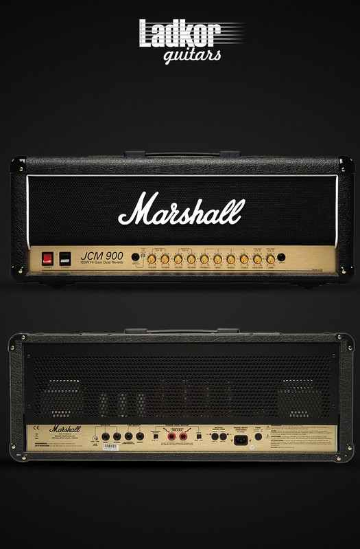 Marshall JCM900 4100-E Hi Gain Dual Reverb Head NEW
