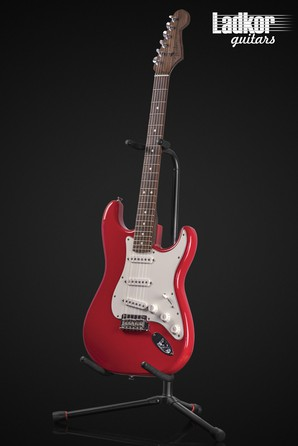 2015 Fender American Standard Stratocaster Rosewood Neck Hot Rod Red Limited Edition