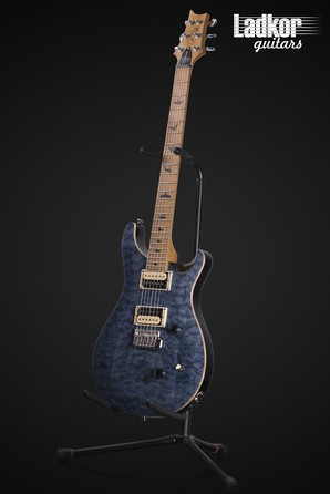 2020 PRS SE Custom 24 Roasted Maple Whale Blue Limited Edition NEW