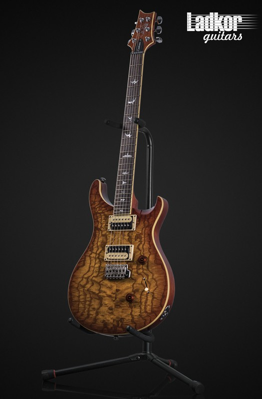 2020 PRS SE Custom 24 Burled Ash Vintage Sunburst Limited Edition NEW