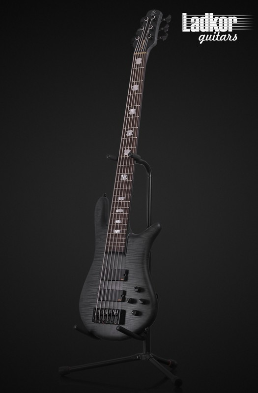 Spector Euro 6 LX Trans Black Stain Matte NEW