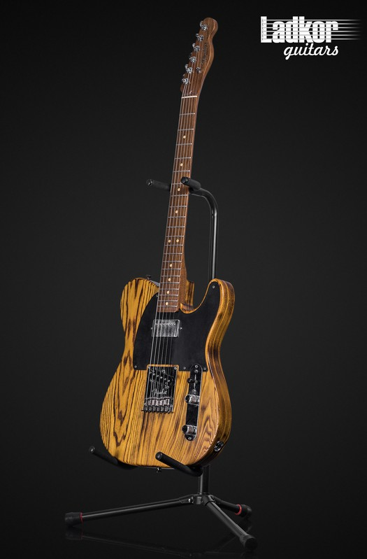 2012 Fender American Design Telecaster FSR Prototype HS Burnt Pine Natural Satin Walnut Neck 1 Of A Kind
