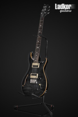 PRS SE Custom 22 Semi-Hollow Gray Black NEW