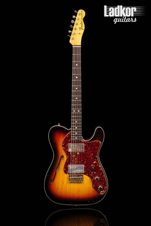 2020 Fender Custom Shop '72 Telecaster Thinline Journeyman Custom Relic NAMM Limited Edition Faded Aged 3-color Sunburst NEW