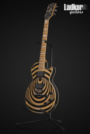 2011 Gibson Les Paul Custom Zakk Wylde Vertigo Signature Maple Neck Prototype Built For Zakk ZWVTO Serial 000