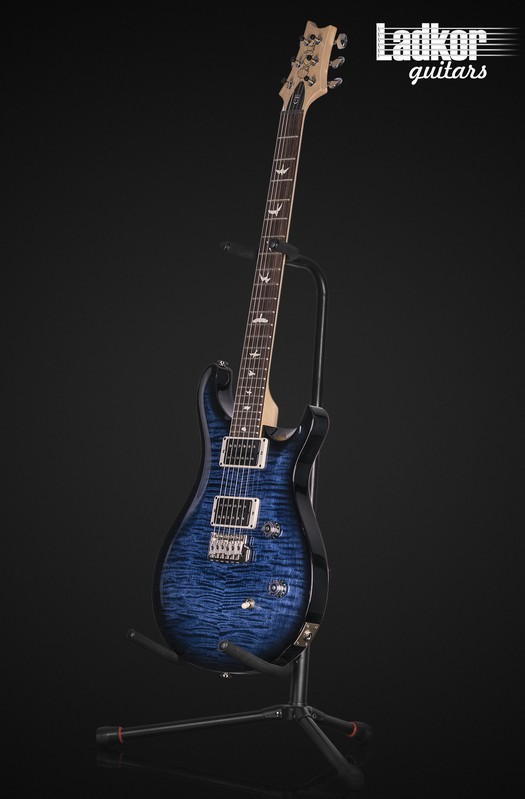 2020 PRS CE24 Whale Blue Smokewrap Burst Custom Color NEW