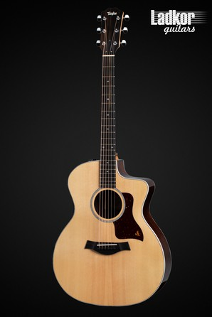 Taylor 214ce DLX Deluxe Natural Grand Auditorium Acoustic Electric Guitar NEW