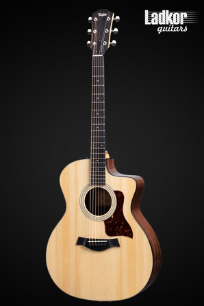 Taylor 214ce Plus Natural Grand Auditorium Acoustic Electric Guitar NEW
