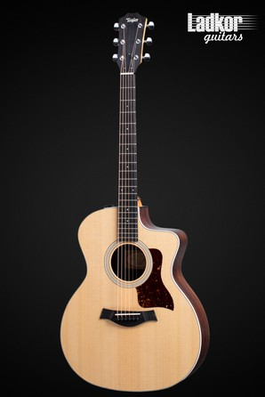 Taylor 214ce Rosewood Natural Grand Auditorium Acoustic Electric Guitar NEW