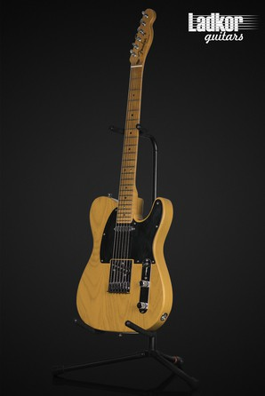 2008 Fender American Deluxe Telecaster Natural Ash S-1 System