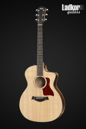 Taylor 214ce-K DLX Natural Koa Deluxe Grand Auditorium Acoustic Electric Guitar NEW