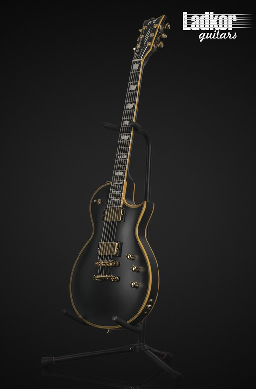 ESP E-II Eclipse Vintage Black Satin DB VB NEW