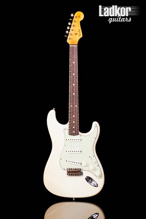 2020 Fender Custom Shop Limited '62/'63 Stratocaster Journeyman Relic LTD Aged Olympic White NEW