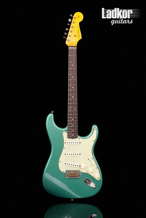 2021 Fender Custom LTD 1960 Stratocaster Journeyman Relic Faded Aged Sherwood Green Metallic Limited Edition NEW