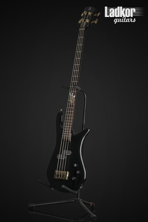 Spector Euro 4 Ian Hill Judas Priest Signature 50th Anniversary Solid Black Gloss Limited Edition 4 String Bass NEW
