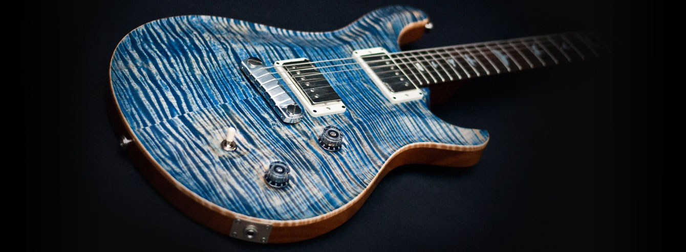 PRS guitars on ladkorguitars.com