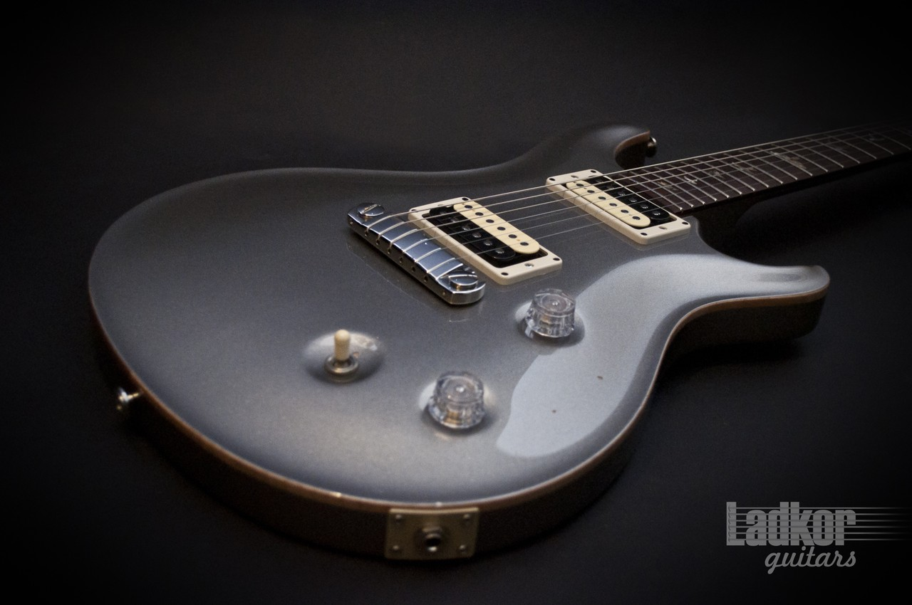 2001 Prs Custom 22 Limited Edition Platinum Silver Suhr