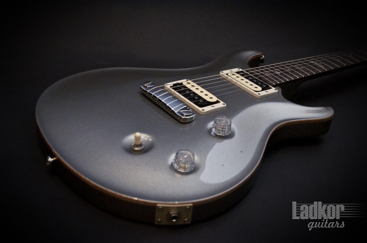 2001 Prs Custom 22 Limited Edition Platinum Silver Suhr