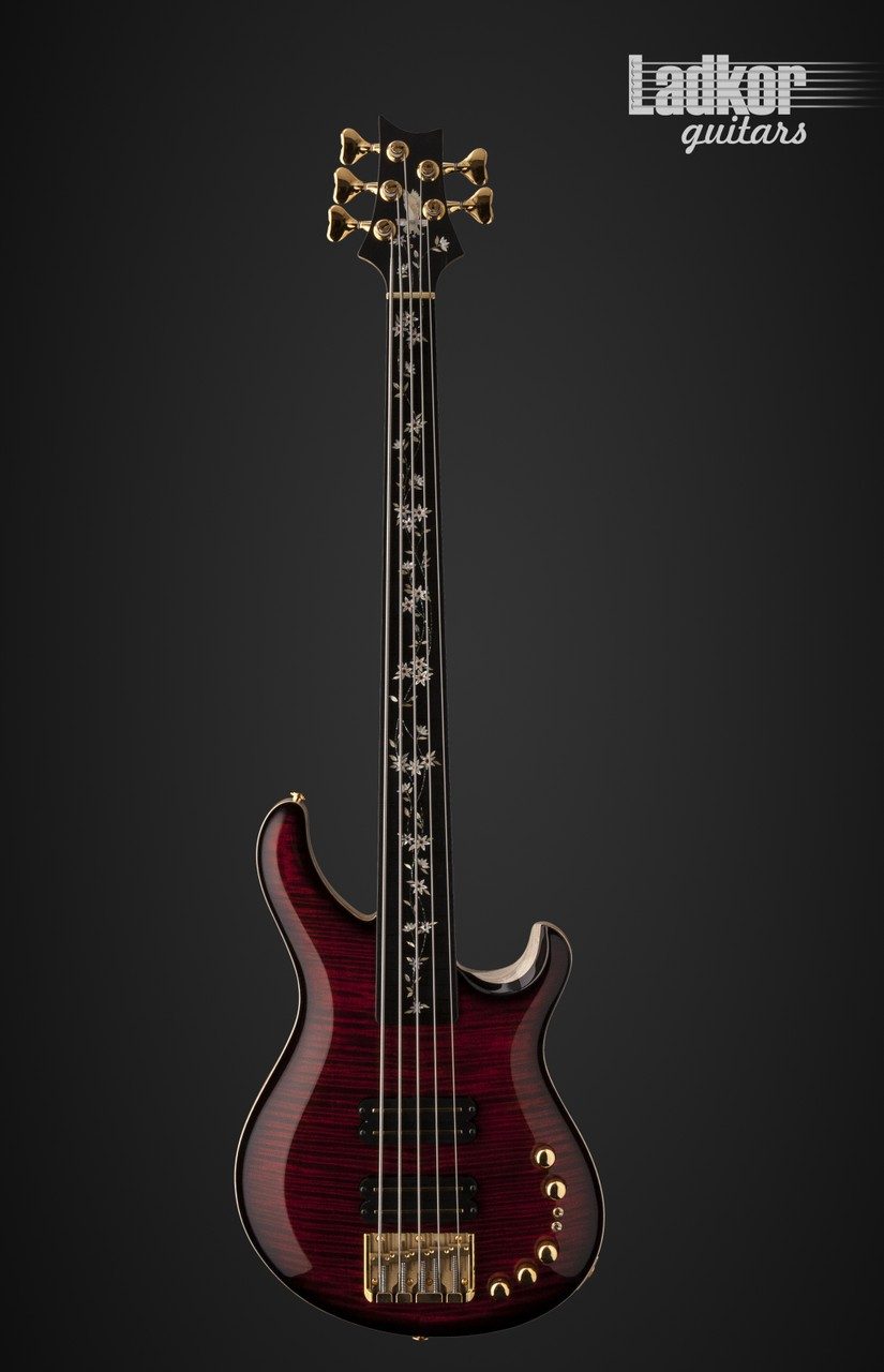 Prs Private Stock Gary Grainger 5 String Fretless Bass